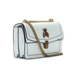 Women's Embellished Sling Bag-White - Bags & Accessories - Pavers England