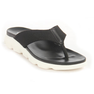 Stylish Flip-Flops for Women-Black - Toeposts - Pavers England