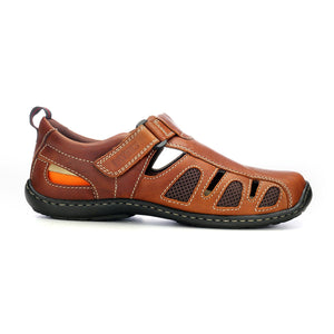 Men's Causal & Comfortable Sandal - Brown