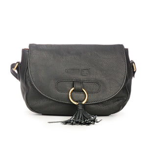 Leather Sling Bag with Tassels for Women - Ladies - Pavers England
