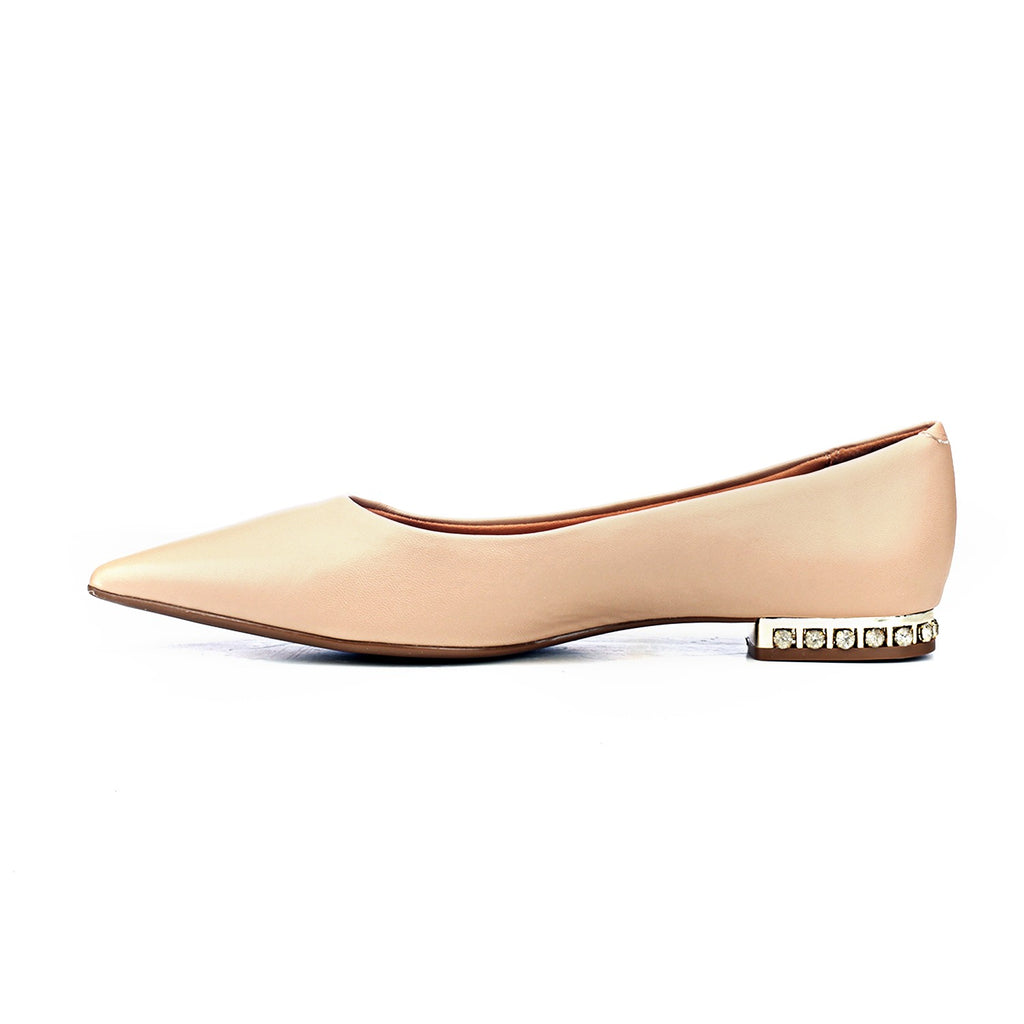 Bold & Beige: Classy Ballerinas - Formal shoe - Pavers England