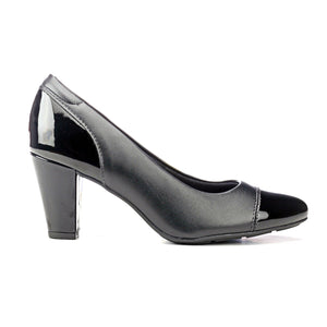 Full Shoe Heels for Women - Black - Heels - Pavers England