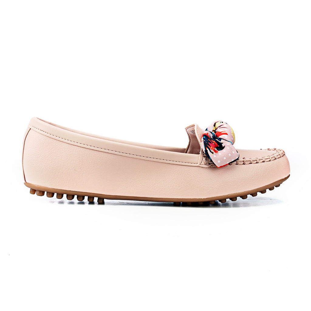 Cute Pink Loafers - Full Shoes - Pavers England