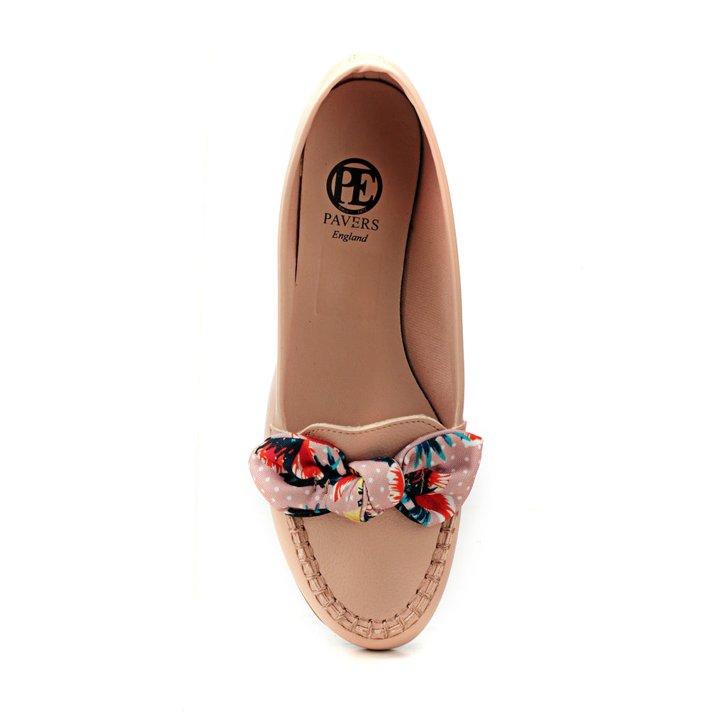Cute Pink Loafers - Casual Shoe - Pavers England