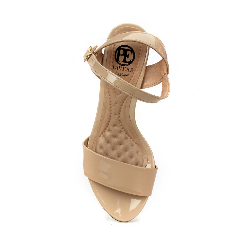 Heel Sandals with Buckle Fastening for Women - Sandal - Pavers England