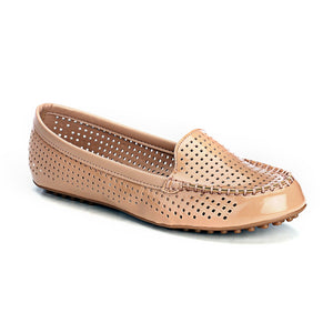 Classy Casual Loafers - Nude - Full Shoes - Pavers England