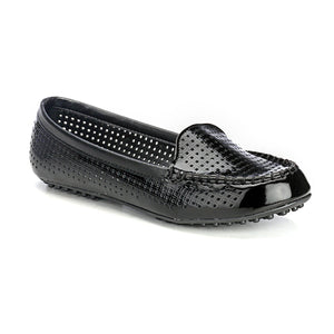 Classy Black Casual Loafers - Full Shoes - Pavers England