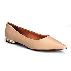 Bold & Beige: Classy Ballerinas - Full Shoes - Pavers England