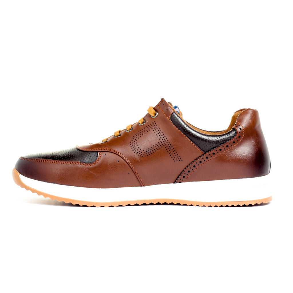 Synthetic Leather Lace-ups - Sneakers - Pavers England