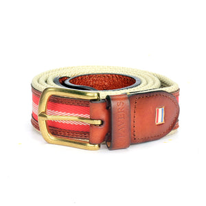 Men's Leather Belt - Mens - Pavers England