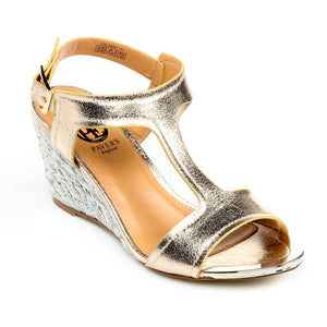 Women's Sandal-Gold - Sandals - Pavers England