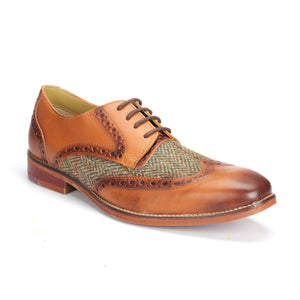 Men's Brogue Shoe - Lace ups - Pavers England