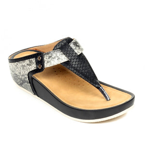 Casual T-Strap Toeposts for Women - Toeposts - Pavers England
