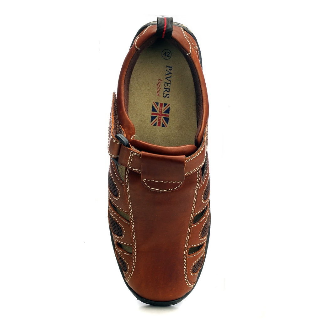 Men's Causal & Comfortable Sandal-Brown - Sandals - Pavers England