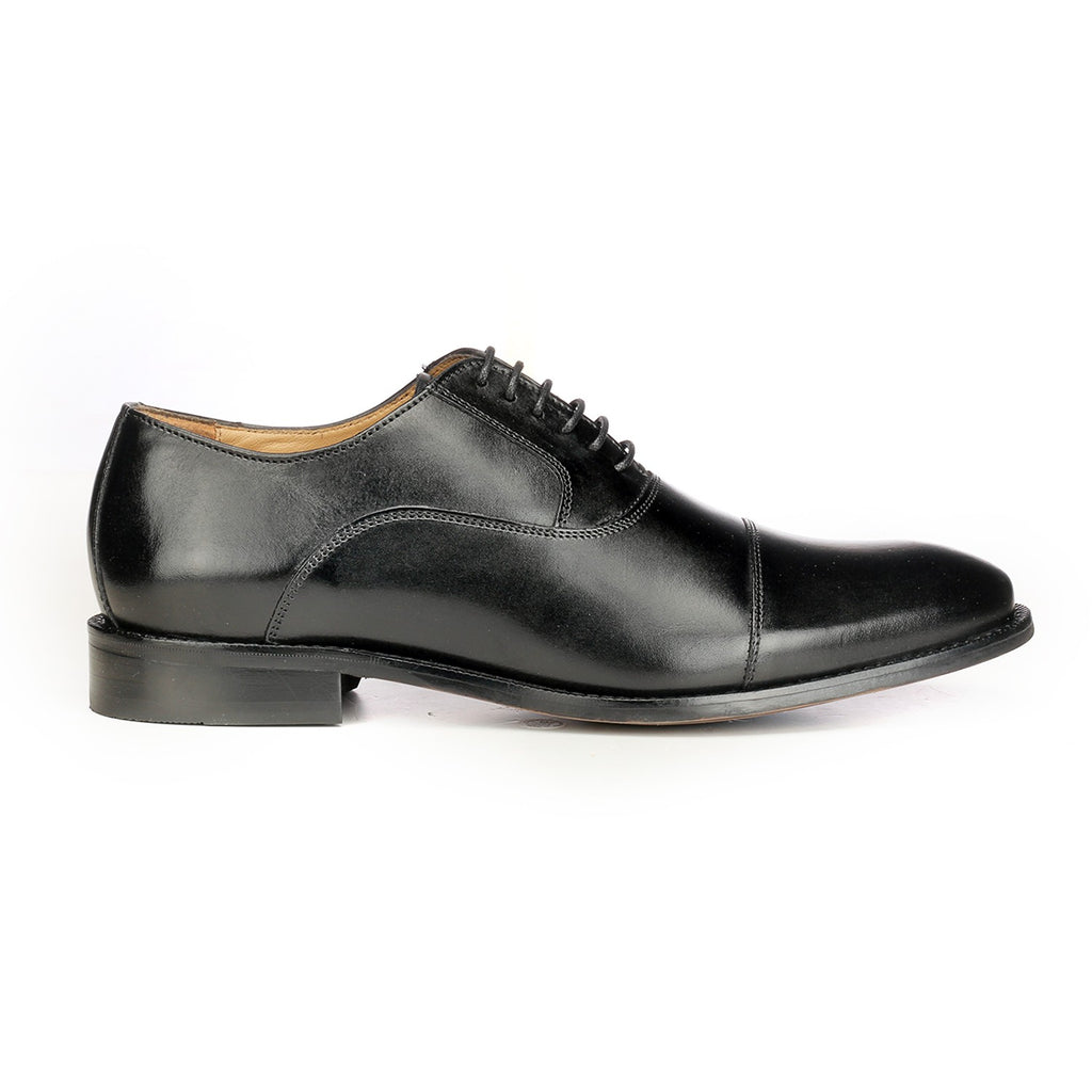 Suave Formal Lace up-Black - Laced Shoes - Pavers England
