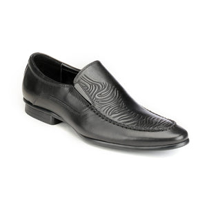 Black Formal Slip-on Shoes - Slipon - Pavers England