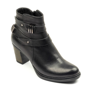 Women's Boot - Black - Ankleboots - Pavers England