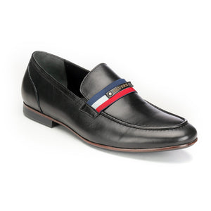 Men's Loafers - Black - Pavers England