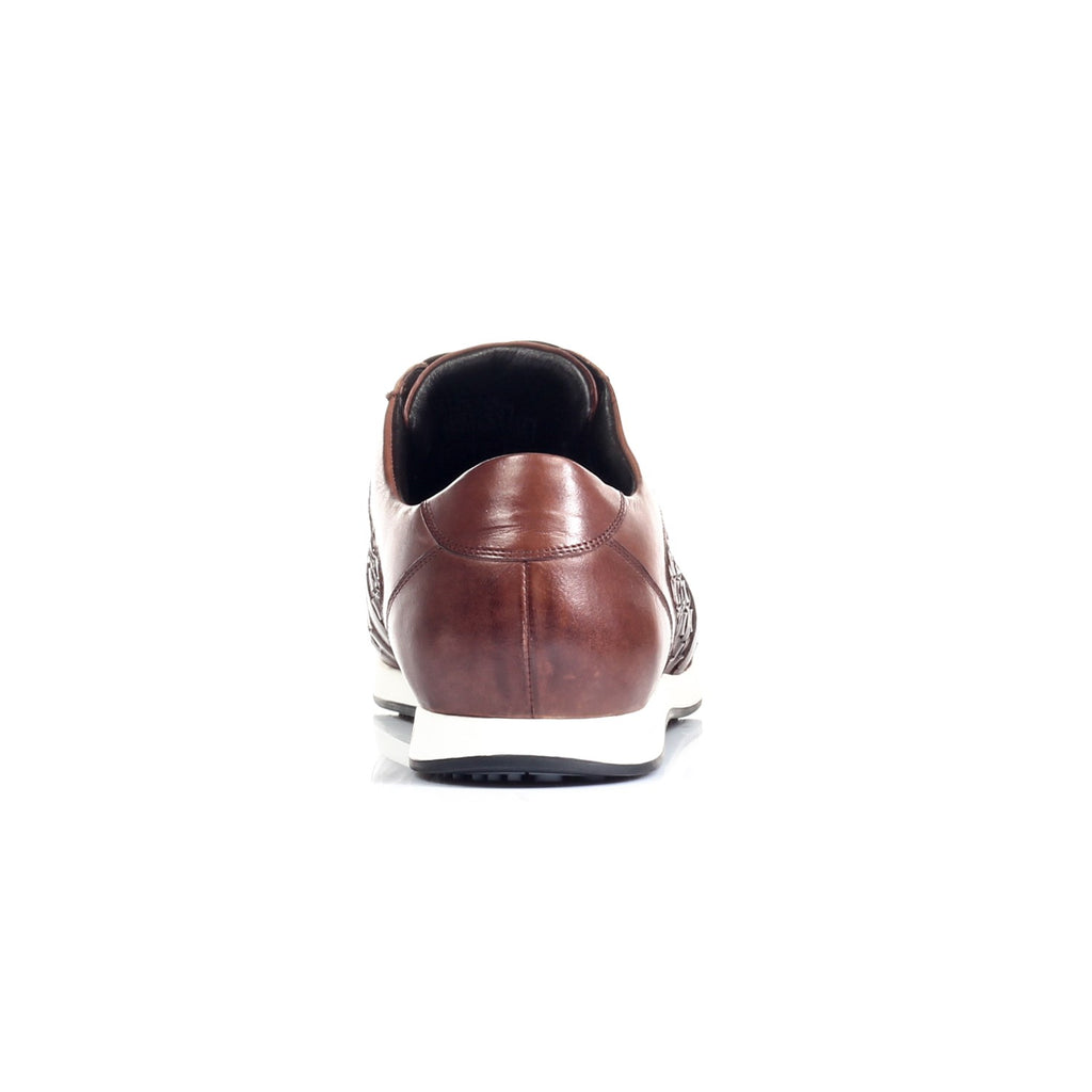 Men's Shoe - Brown - Sneakers - Pavers England