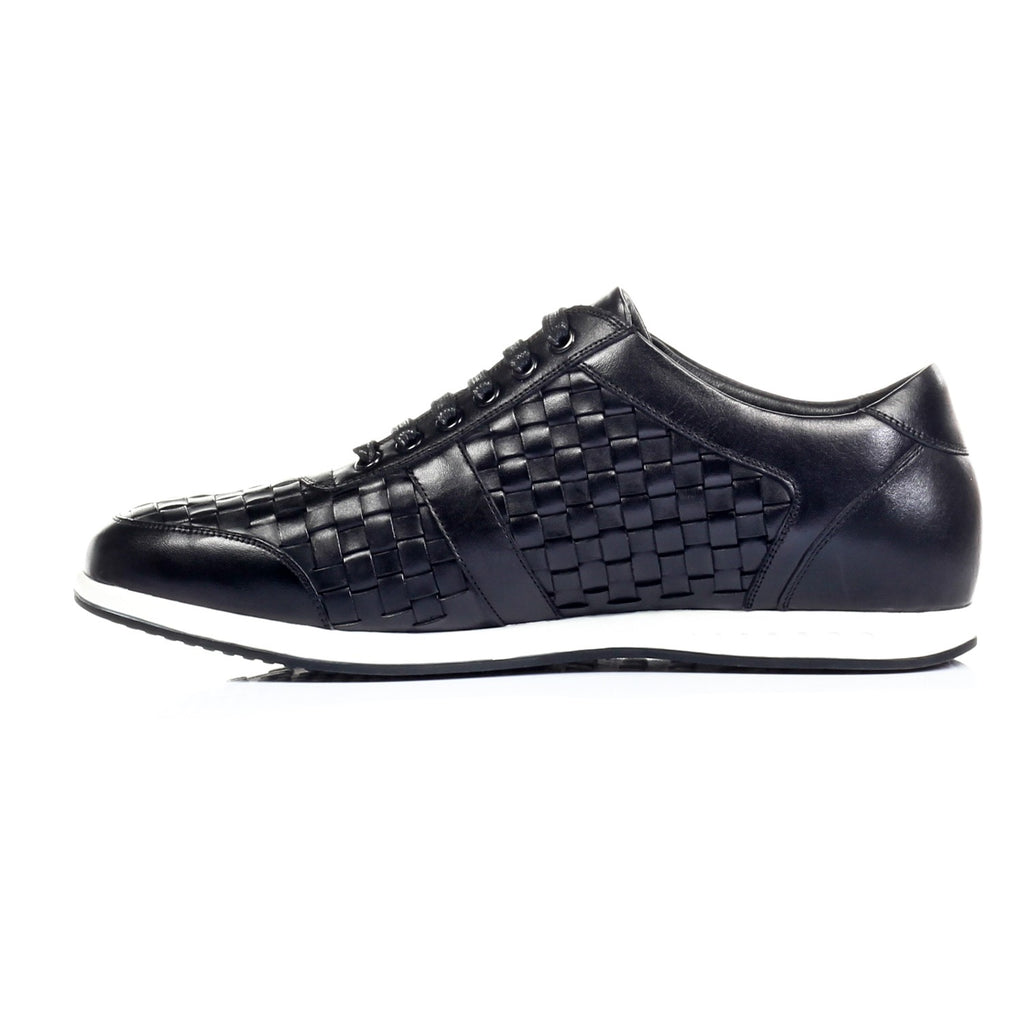Men's Shoe - Black - Sneakers - Pavers England