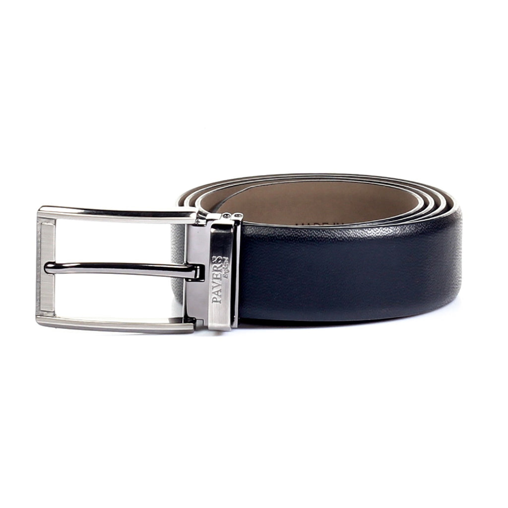 Textured Leather Belt for Men - Bags & Accessories - Pavers England