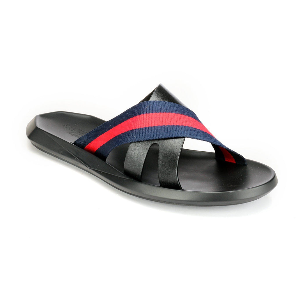 Men's Flip Flop - Navy - Open Toe - Pavers England