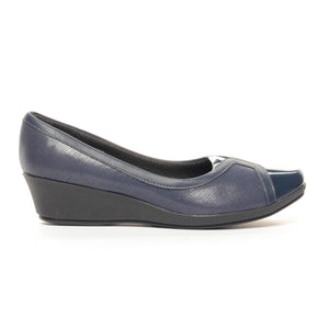 Women's Shoe - Blue - Full Shoes - Pavers England