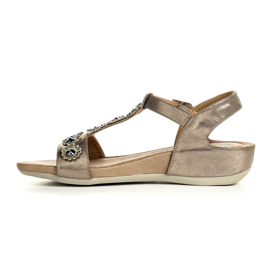 Buckle fastening Sandals for Women - Sandals - Pavers England