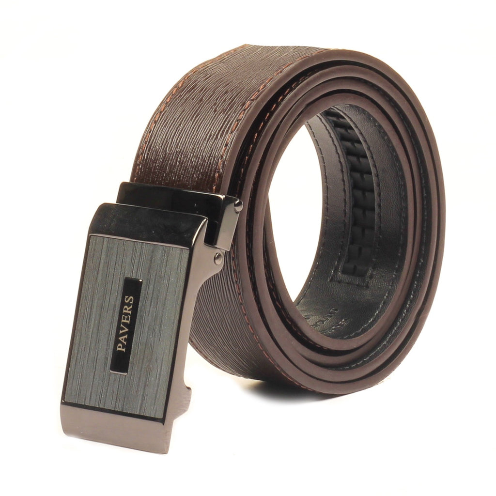 Fashionable Leather Belt for Men - Bags & Accessories - Pavers England