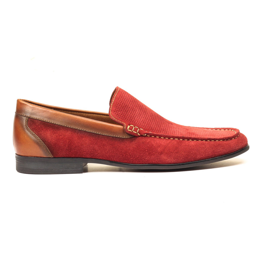 Men's Loafers - Burgundy - Wedding & Occasion - Pavers England