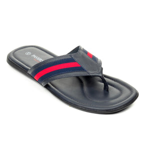 Men's Flip Flop - Navy Red - Open Toe - Pavers England