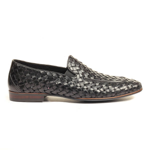 Men's Slip-on Shoe - Black - Wedding & Occasion - Pavers England