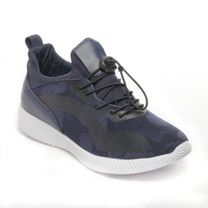 Women's Shoe-Navy - Sneakers - Pavers England