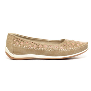 Full Shoe Ballerinas for Women - Casual Shoe - Pavers England
