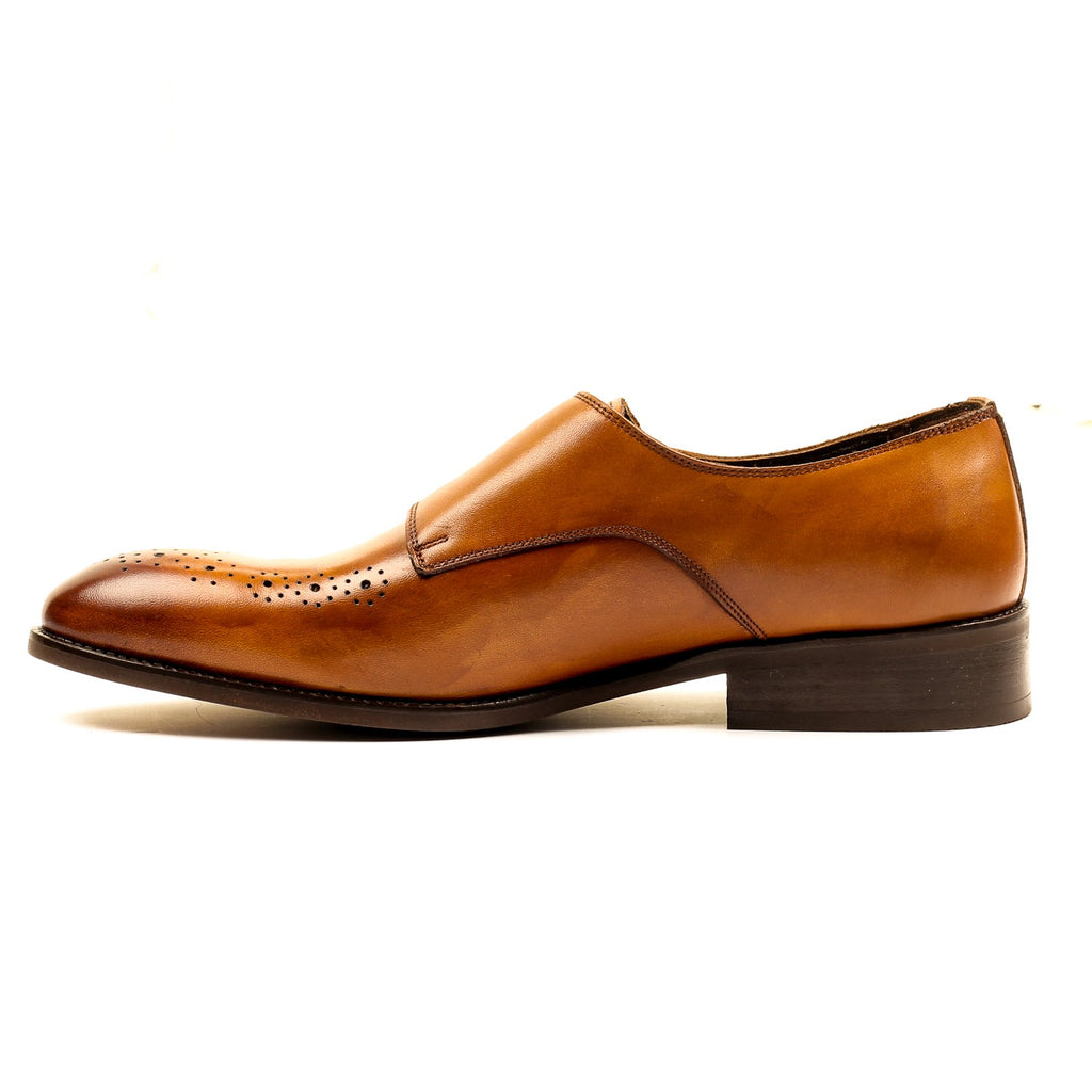 Men's Shoe - Monk - Pavers England