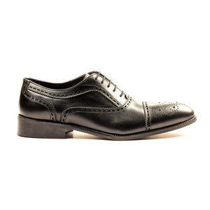 Men's Formal Shoe - Black - Pavers England