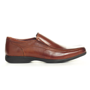 Men's Formal Shoe-Tan - Slip ons - Pavers England