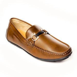 Causal Bit Loafers for Men - Taupe - Wedding & Occasion - Pavers England