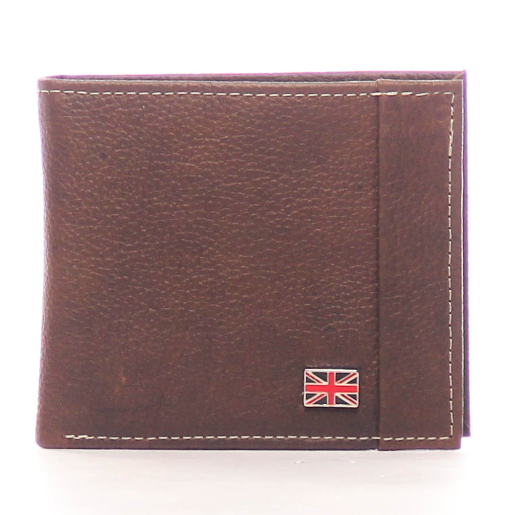 Textured Leather Wallet for Men - Black - Bags & Accessories - Pavers England