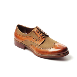 Men's Brogue Shoe - Shoe Lace - up - Pavers England