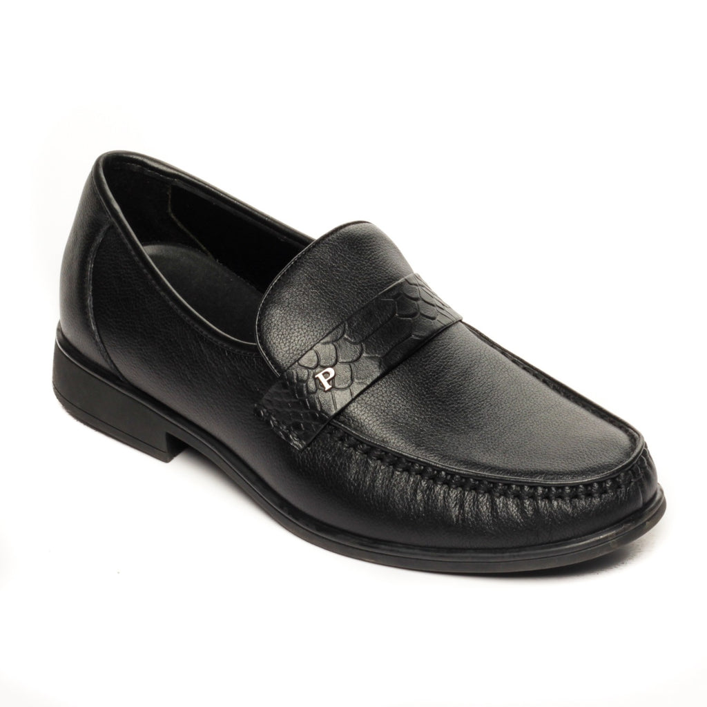 Leather Slip-on Loafers for Men - Slipon - Pavers England