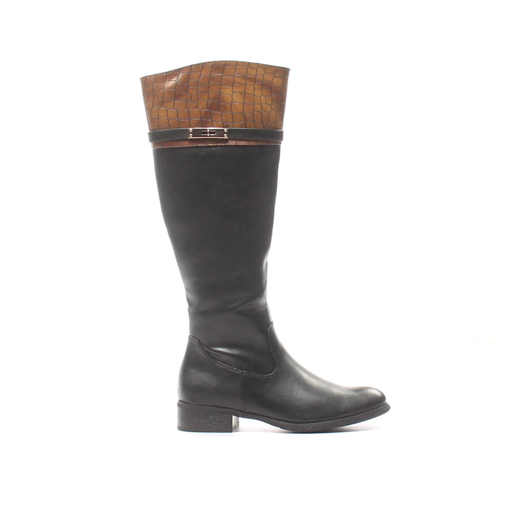 Women's Full Boots - Black - Boots - Pavers England