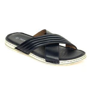 Men's Sandal - Navy - Open Toe - Pavers England