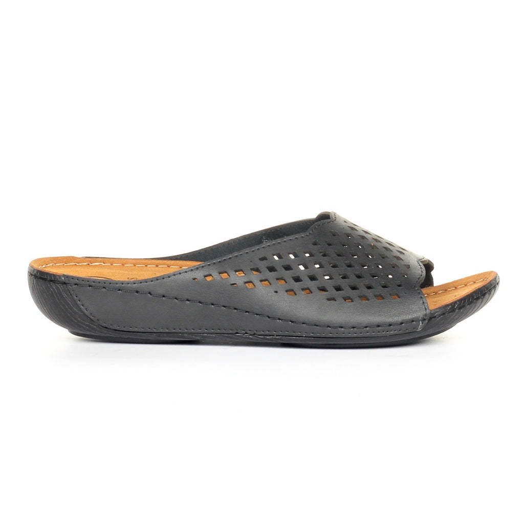 Leather Mules for Women - Sandal - Pavers England