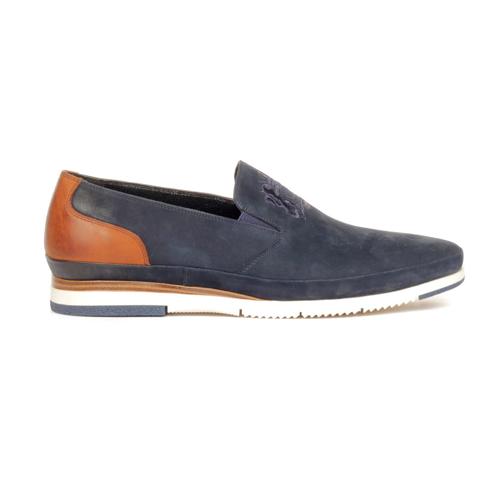 Men's Loafers - Navy - Comfort Fits - Pavers England