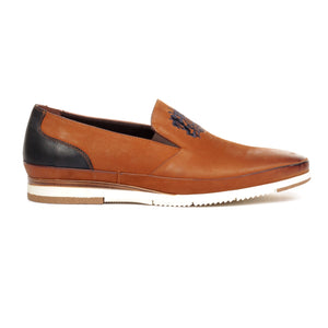 Men's Loafers - Tan - Comfort Fits - Pavers England