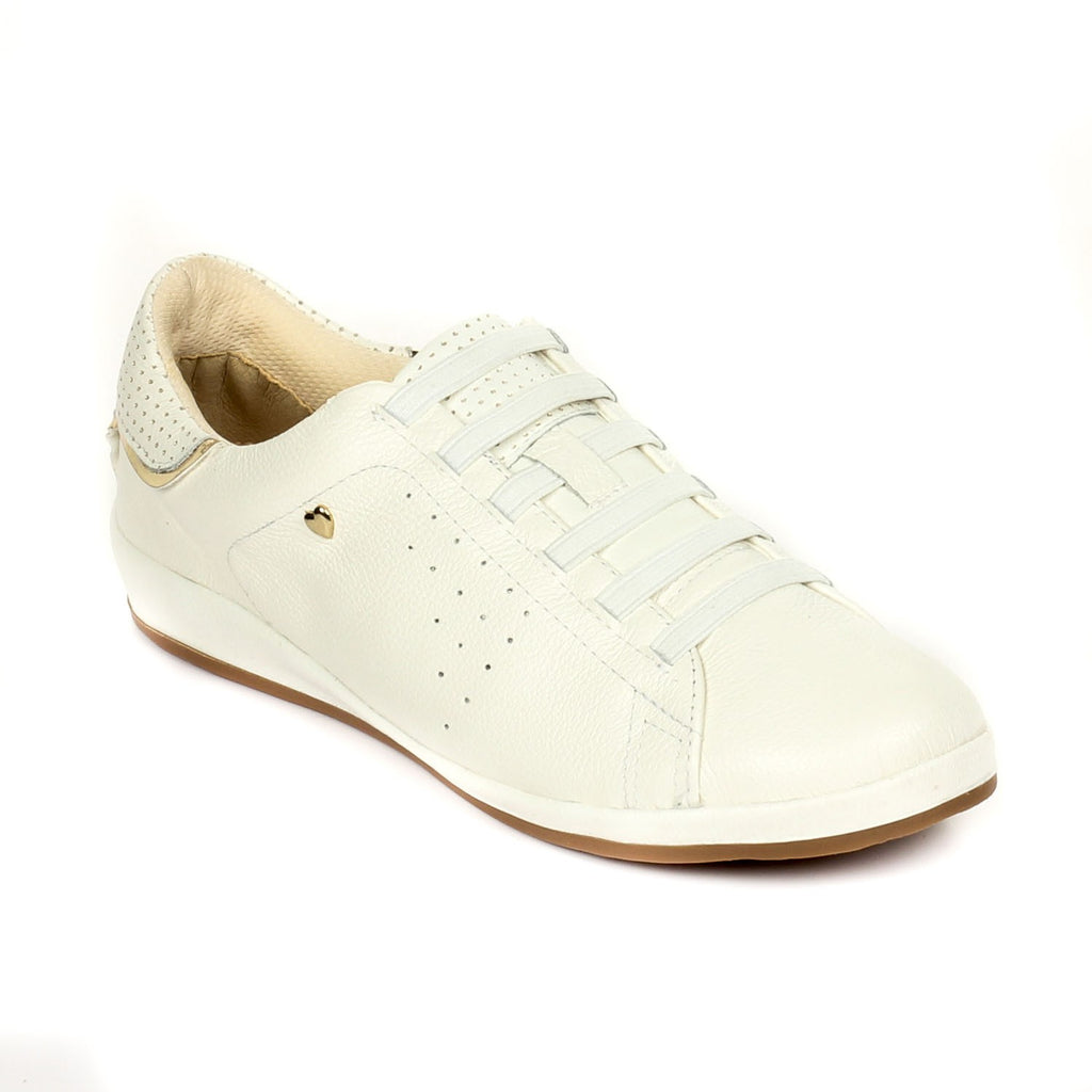 Leather Lace-Ups for Women - Casual Shoe - Pavers England
