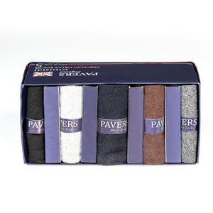 Premium Men's Socks-Black - Socks - Pavers England