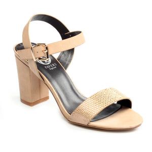 Women's Sandal - Beige - Wedding & Occasion - Pavers England