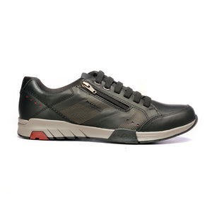 Men's Lace-up Shoe-Black - Sneakers - Pavers England